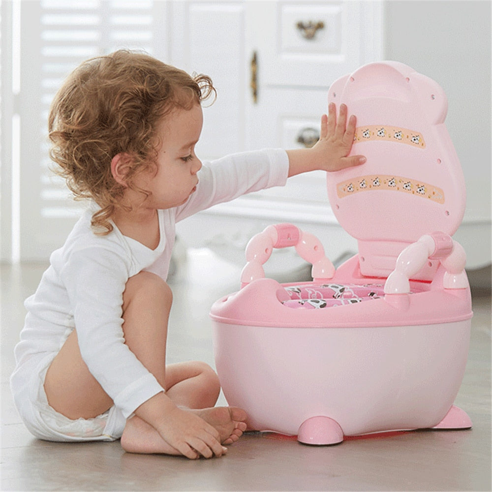 Baby Potty Portable Baby Toilet Cartoon Cars Potty Child Pot Training Girls Boy Potty Kids Chair Toilet Seat Children's Pot WC