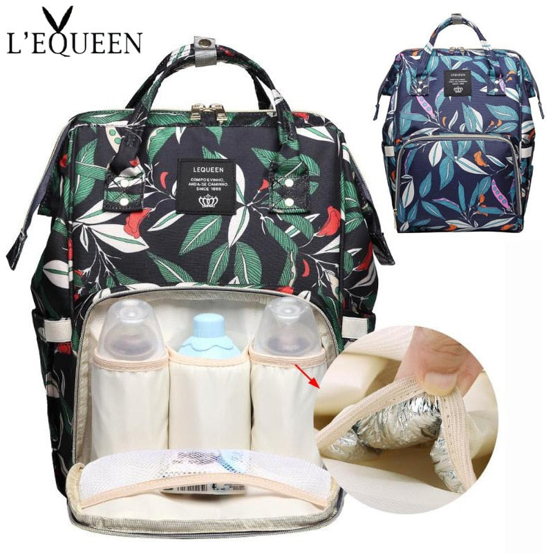 Multifunction Mummy Maternity Diaper Bag Large Waterproof Nursing Bag Travel Backpack for mom Stroller Baby Nappy Bag Baby Care