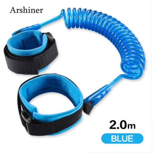 Anti Lost Adjustable Traction Rope Reminder Toddler Wristband Walk Assistant belt Child Wrist Leash Baby Safety Walking Harness
