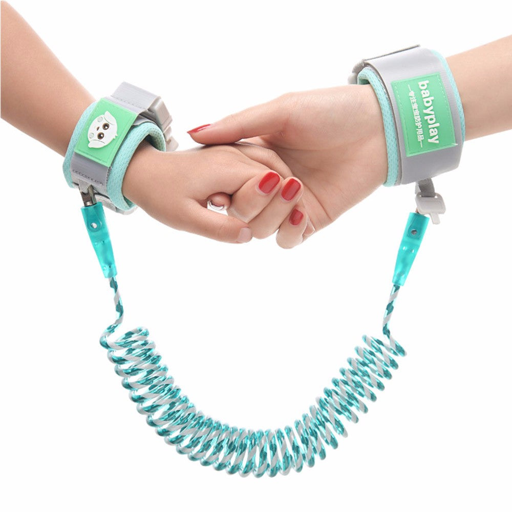 Anti Lost Wrist Link Upgrade Safety Harness Luminous Baby Strap Outdoor Walking Hand Belt Band Anti-lost Wristband with Lock