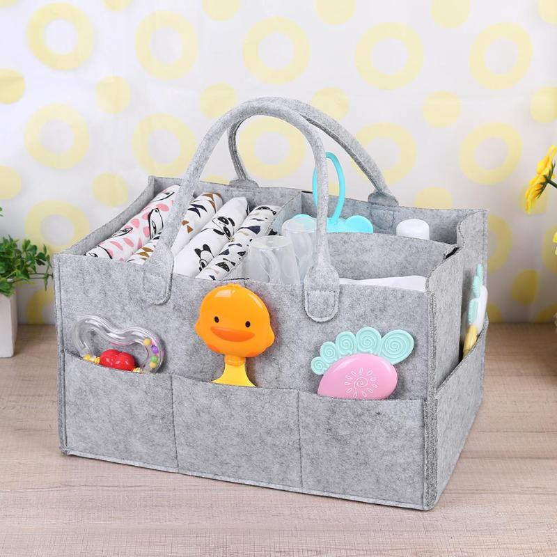 Multifunctional Bottle Storage Bag For Baby Diapers Nappy Changing Bag Organizer Travel Organization Cosmetic Make up Storage