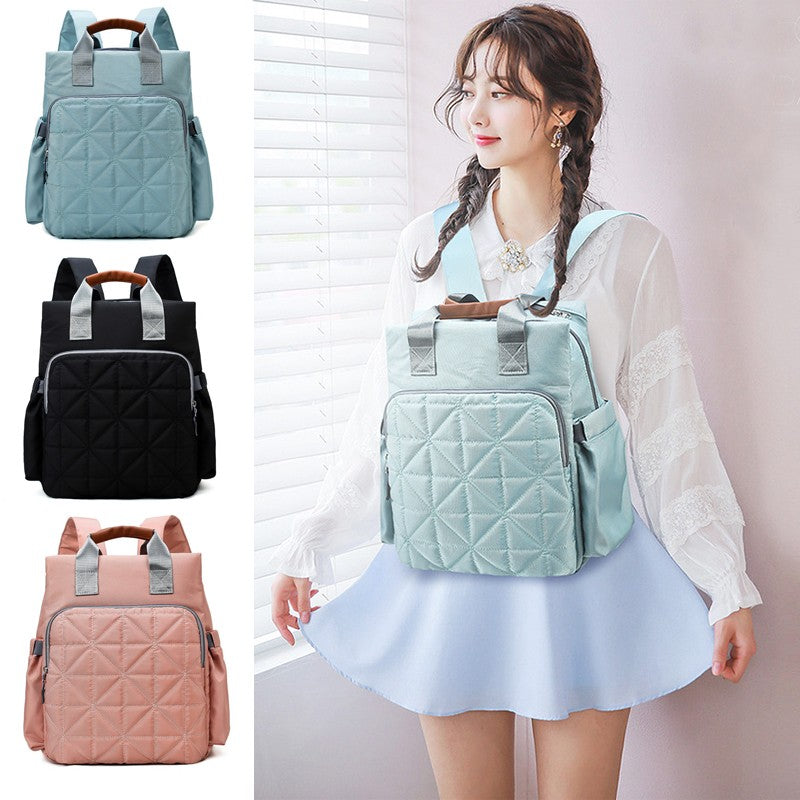 Multi-function Large-capacity Backpack Mummy Bag Fashion Maternal and Child Package Out Storage Bag