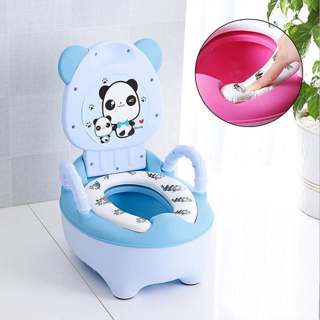 Portable Baby Pot Cute Toilet Seat Pot For Kids Potty Training Seat Children's Potty Baby Toilet Bowl Pot Training Potty Toilet