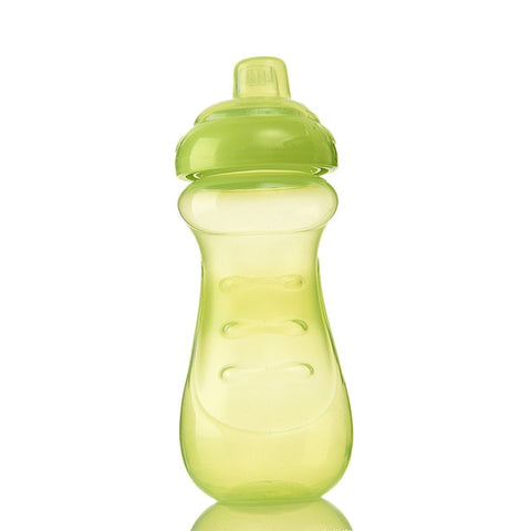 Baby PP Cup Infant Learn To Drink Bottle Children Feeding Drinking Water Bottles Kids Training Drinkware Easy Grab T0669