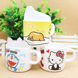 Baby Cups Melamine Cartoon  Cute Baby Drinkware with Handle Nature safe  Material kid drinkware