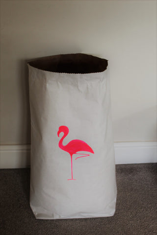 Flamingo Storage Bag
