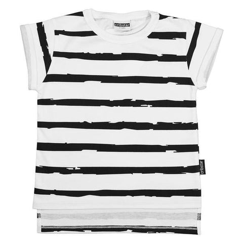 White Stripes Tee