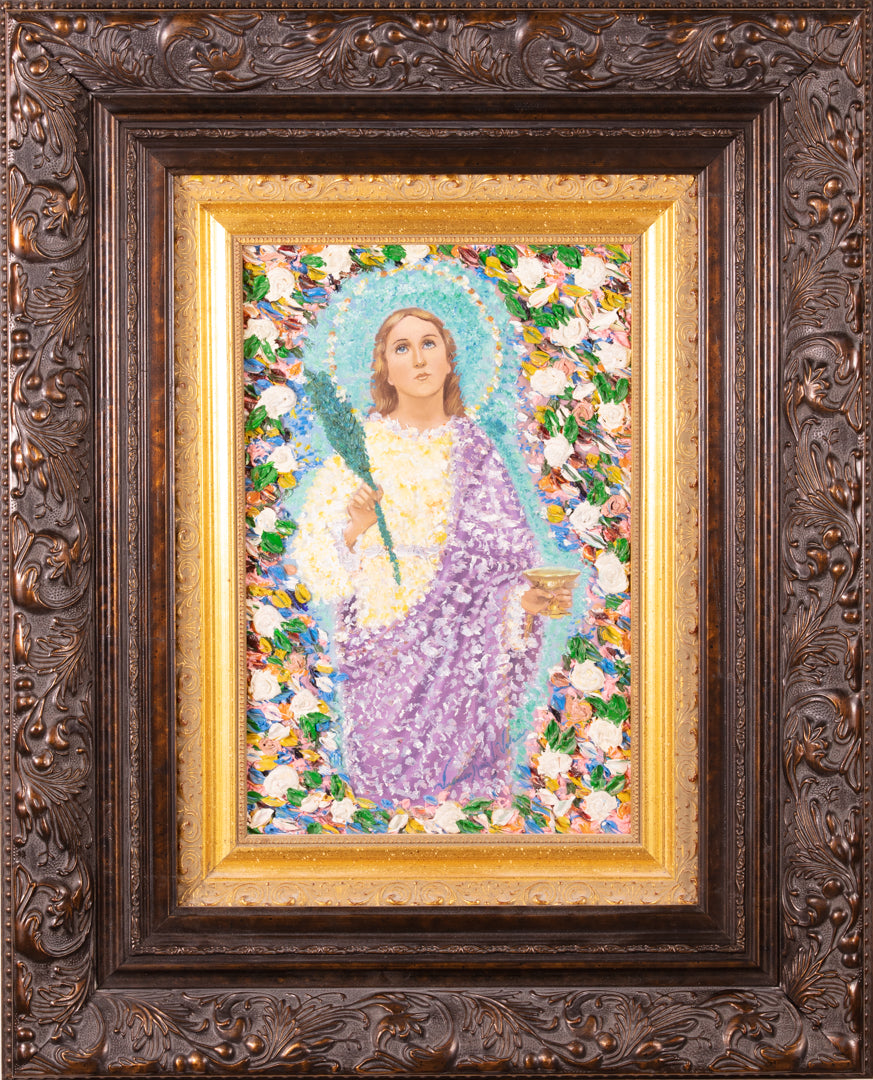 Virgin Of saint Lucia