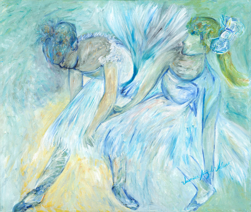 Homage to Edgar Degas