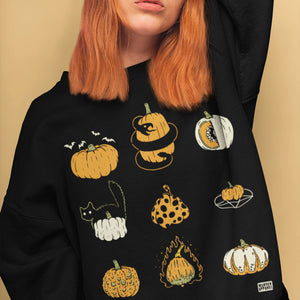 9 Pumpkins Sweatshirt - Murder Apparel