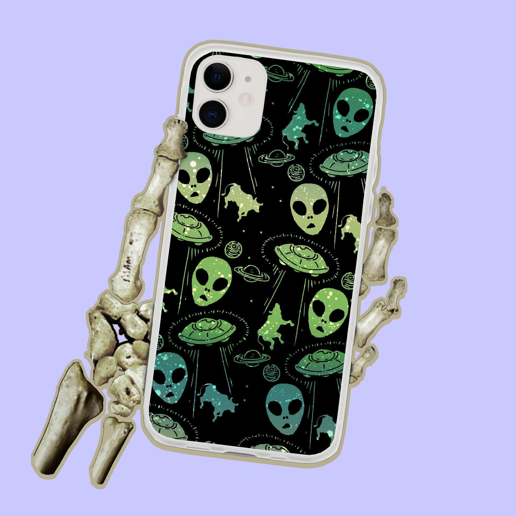 Aliens And UFOs iPhone Case