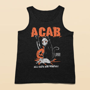 All Cats Are Brutal Halloween Tank top
