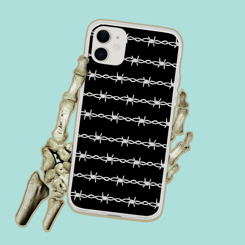 Barb Wire Do Not Enter iPhone Case