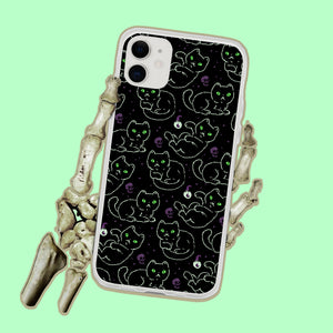 Witchy Black Cats iPhone Case