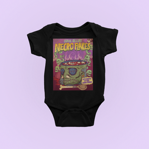 Cereal Killer Zombie Baby Bodysuit