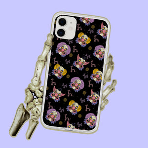 Spooky Clowns Circus iPhone Case