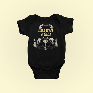 Let's Start A Cult Baby Bodysuit