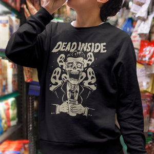 Dead Inside Sweatshirt - Murder Apparel