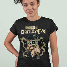 Load image into Gallery viewer, Basically A Detective T-Shirt