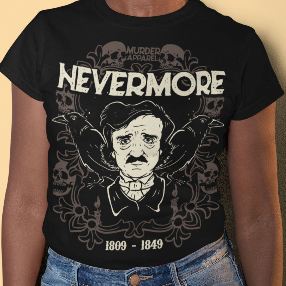 Edgar Allan Poe Nevermore T-Shirt
