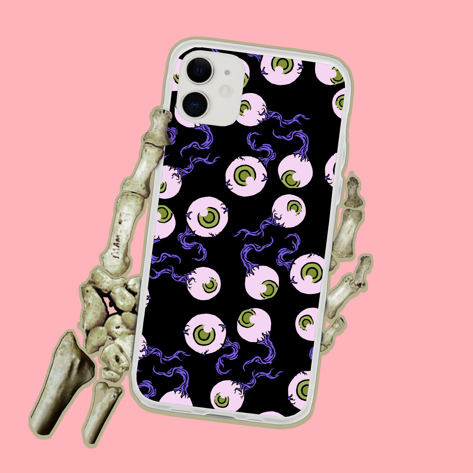 Spooky Eyeballs iPhone Case