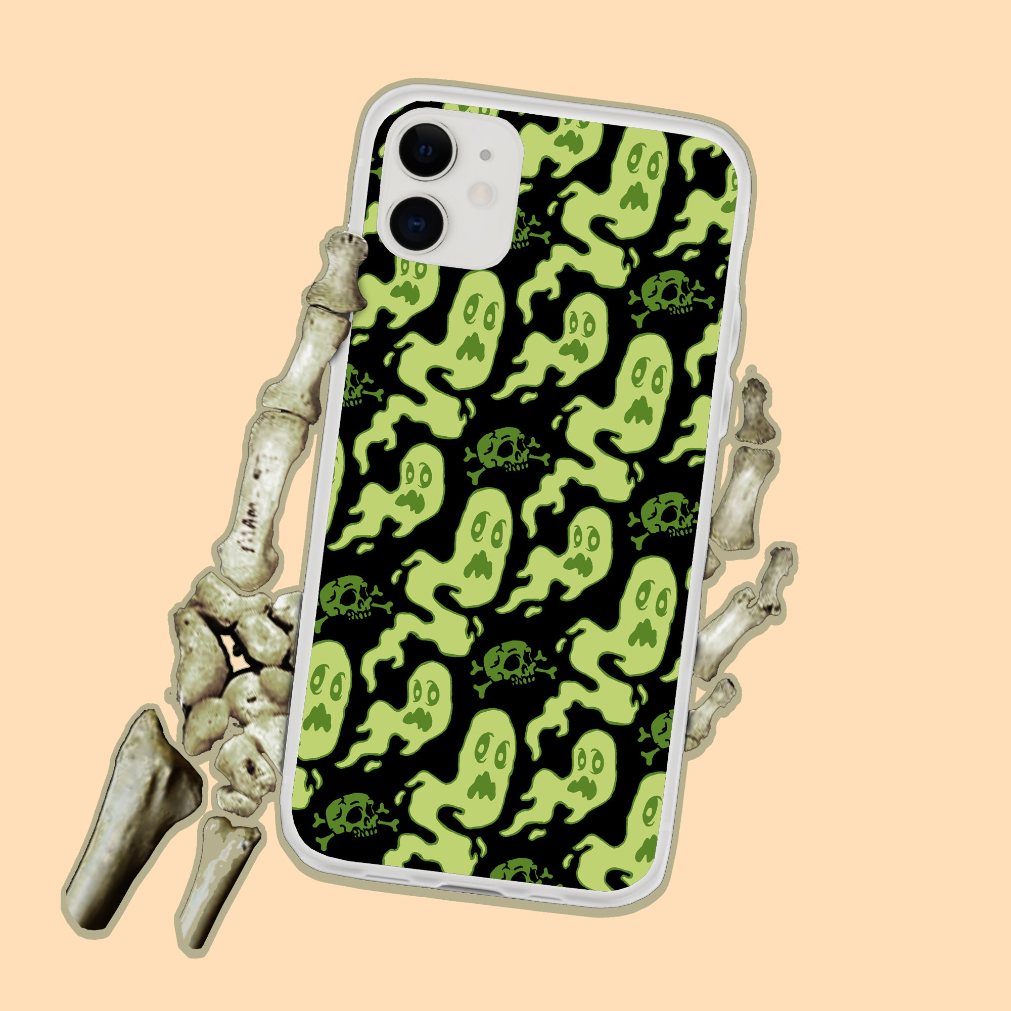 Friendly Ghosts iPhone Case
