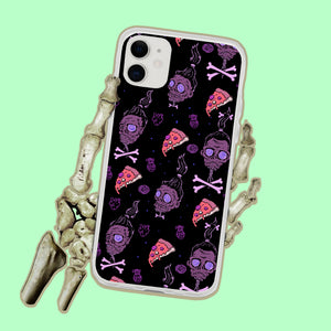 Pizza Ghoul Zombie iPhone Case