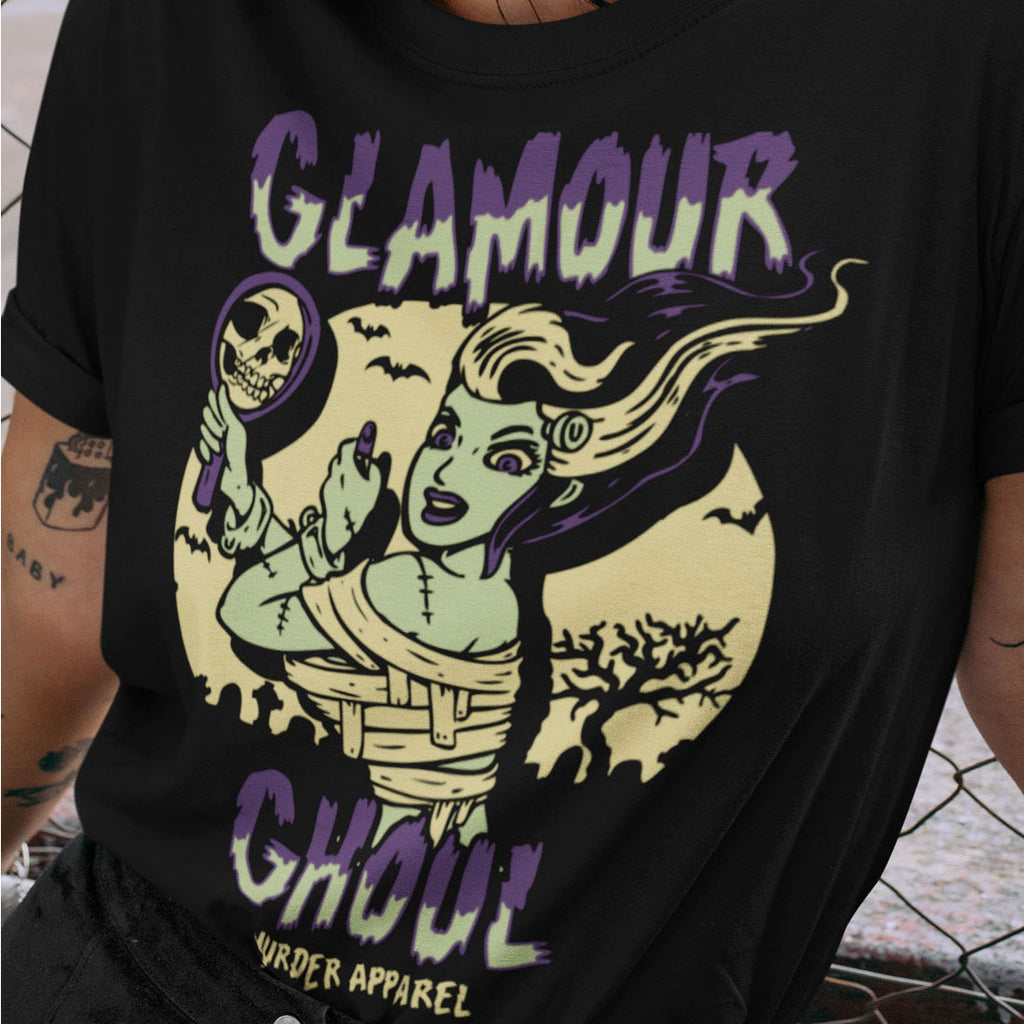 Glamour Ghoul T-Shirt - Murder Apparel