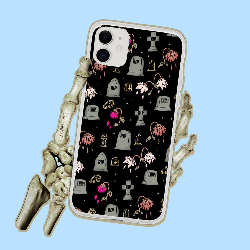 Cemetery RIP  iPhone Case