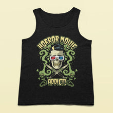 Load image into Gallery viewer, Horror Movies Addict Tank top - Murder Apparel