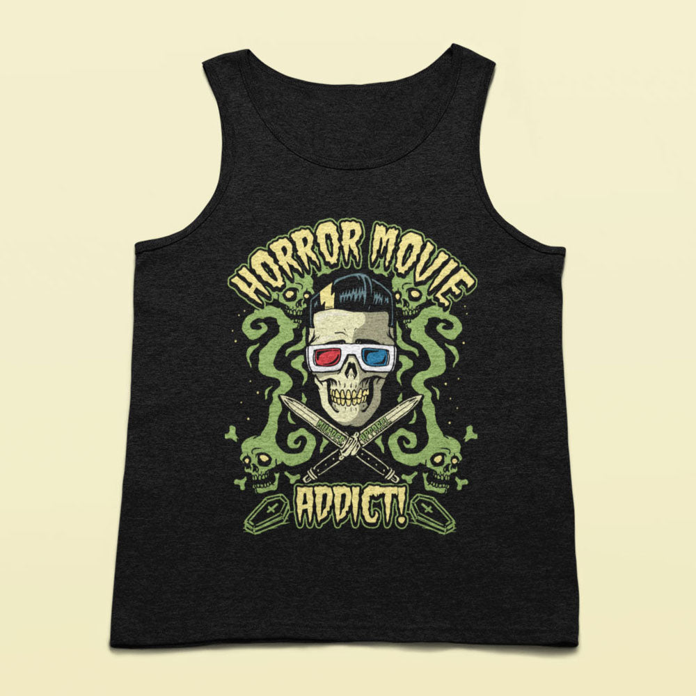 Horror Movies Addict Tank top - Murder Apparel