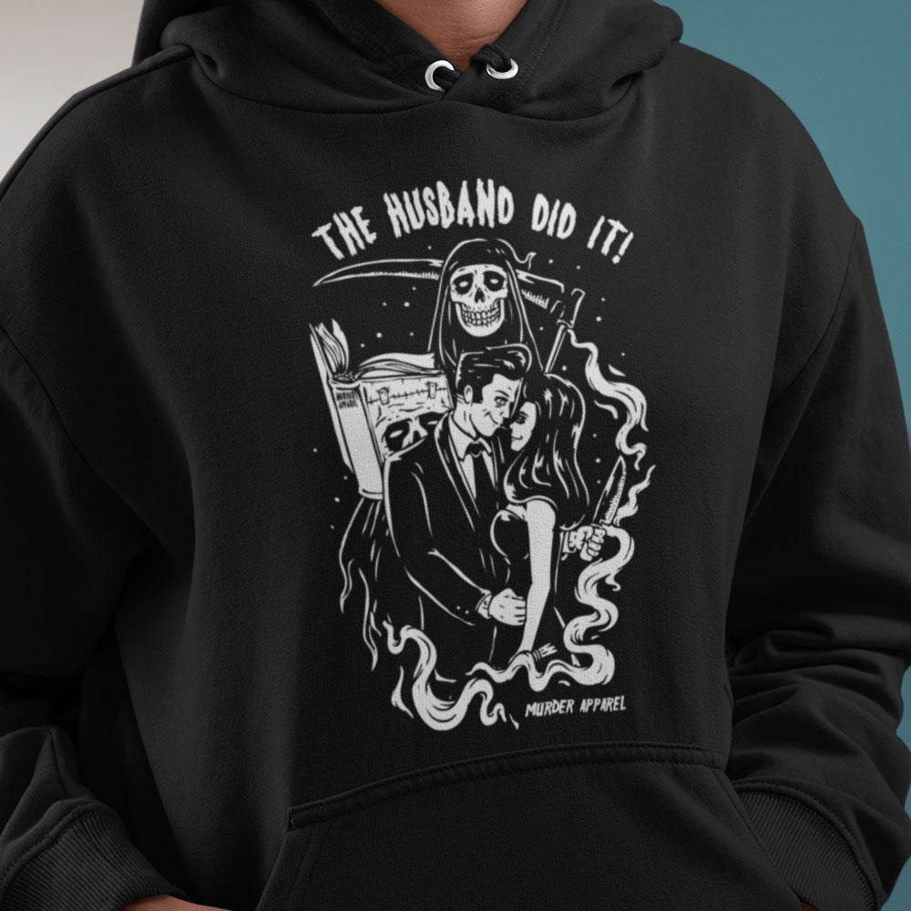 The Husband Did It Hoodie