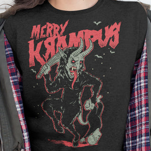 Merry Krampus Sweatshirt