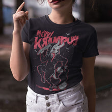 Load image into Gallery viewer, Merry Krampus T-Shirt - Murder Apparel