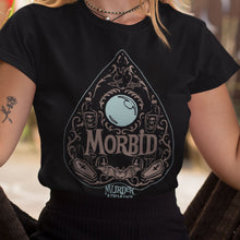 Load image into Gallery viewer, Ouija Board Planchette Morbid T-shirt
