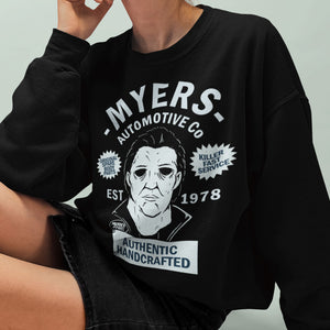 Michael Myers Automotive Sweatshirt - Murder Apparel