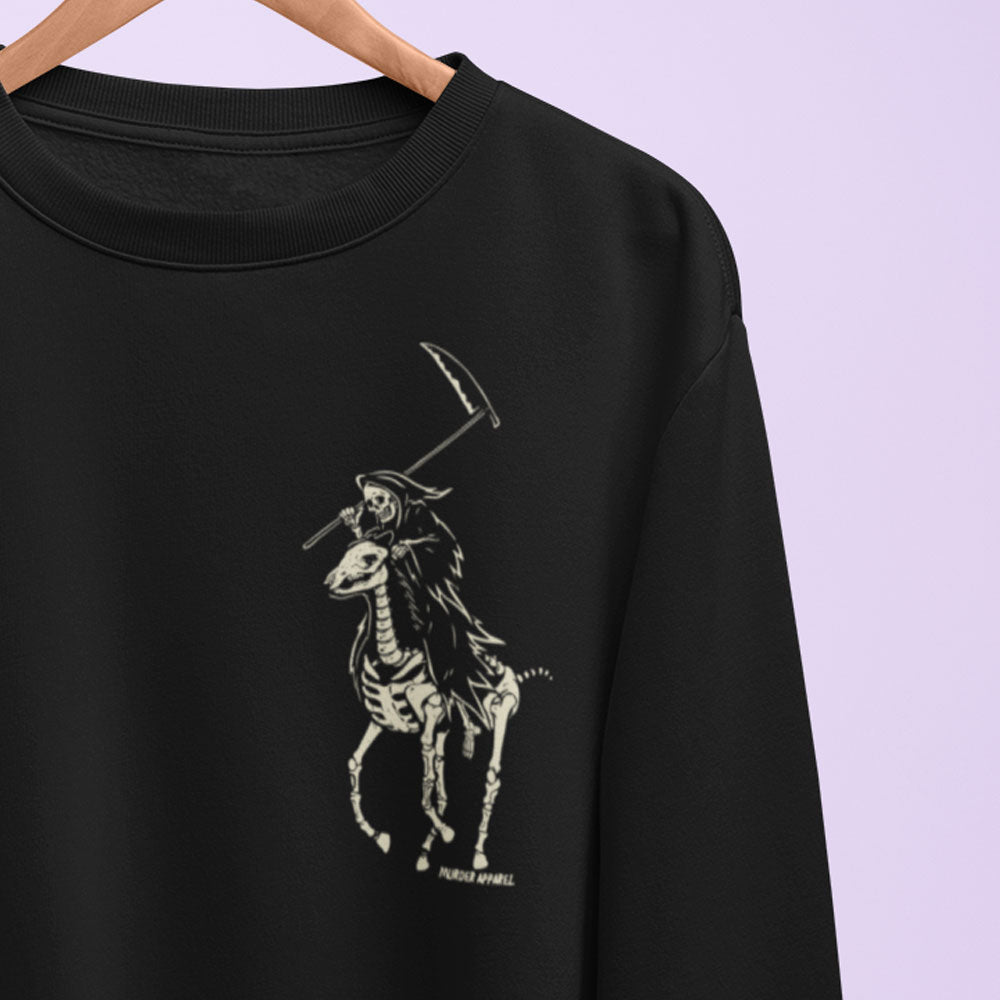 Polo Reaper Sweatshirt - Murder Apparel
