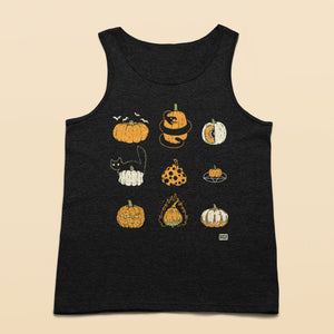 9 Pumpkins Tank top - Murder Apparel