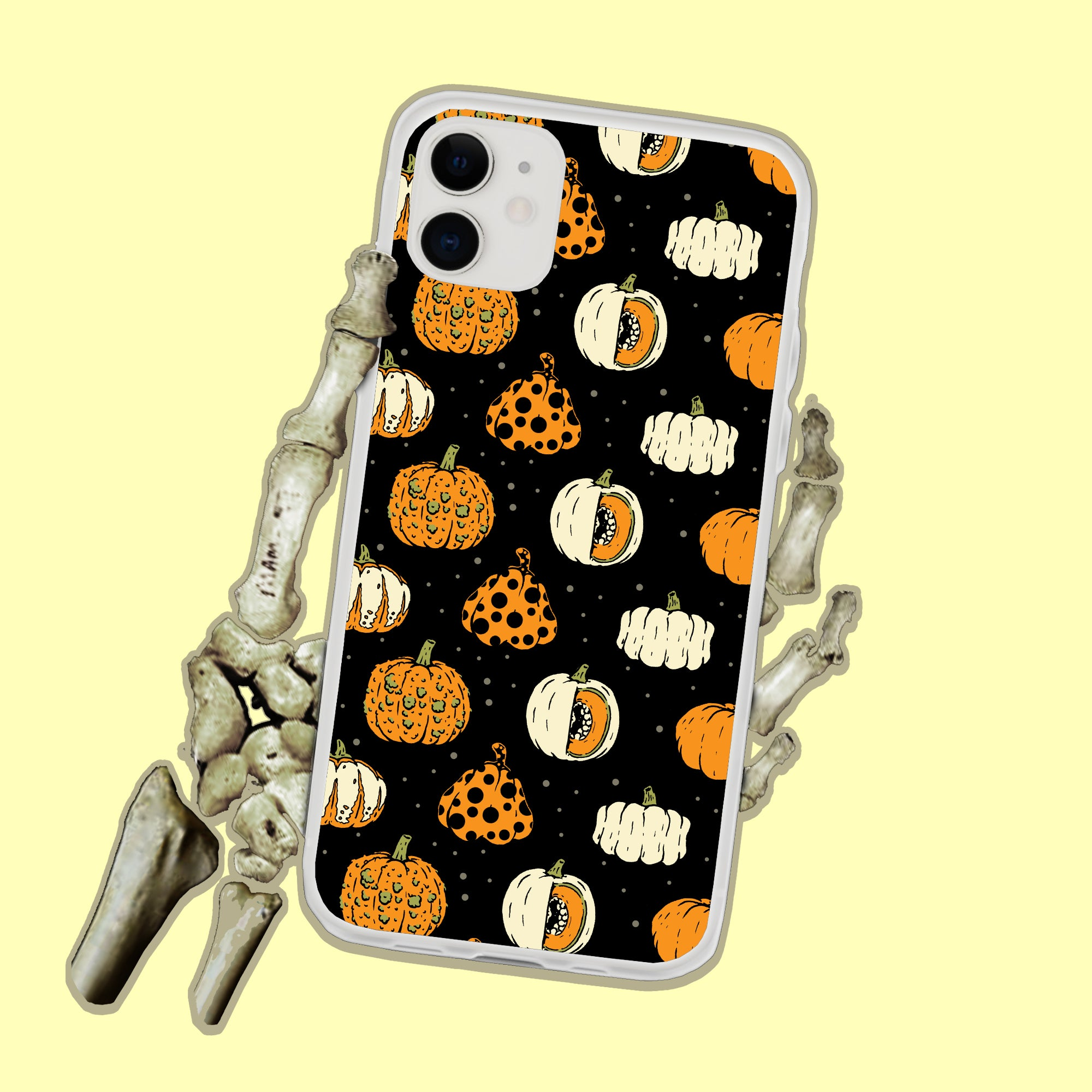Halloween Pumpkins iPhone Case