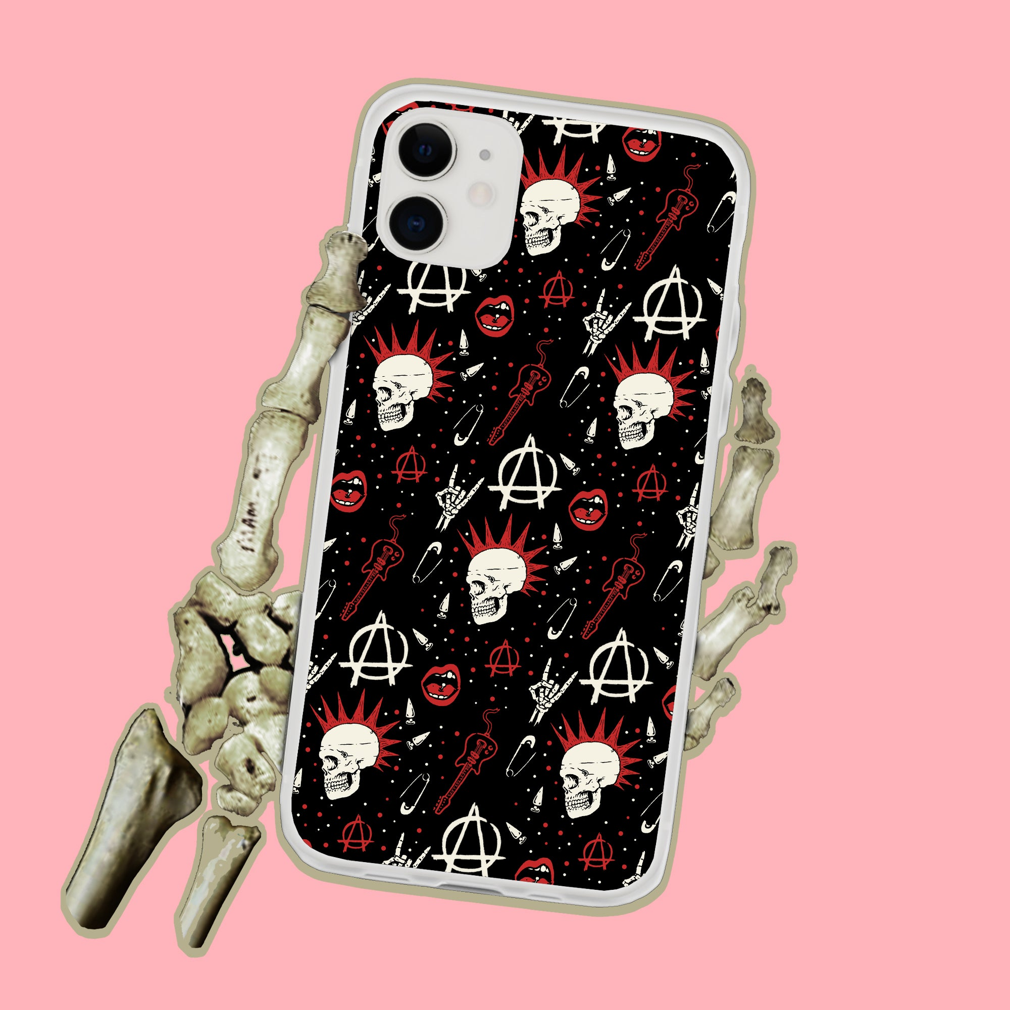 Punk Rock Anarchy iPhone Case