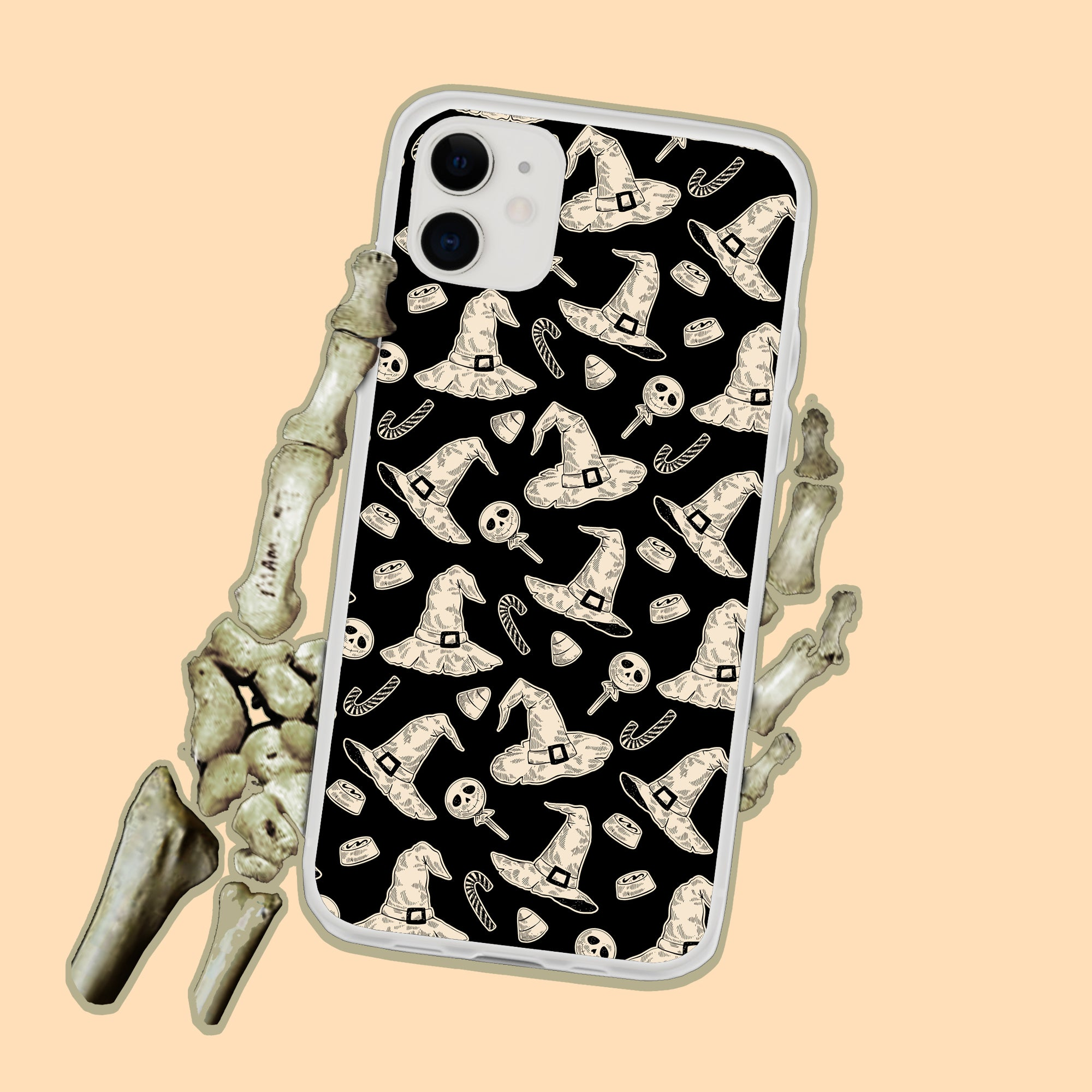 Witchy Hats Halloween iPhone Case