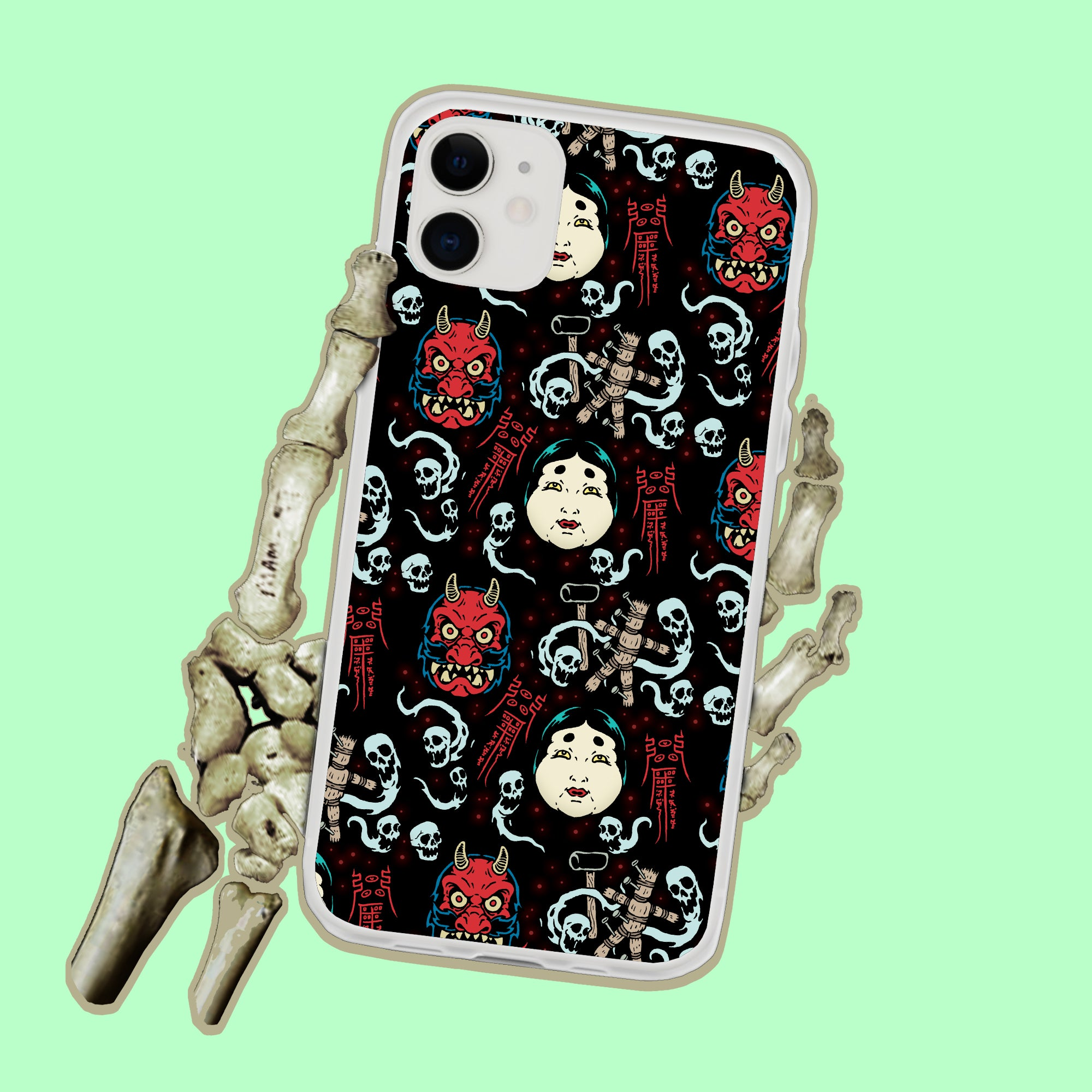 Japanese Witch Demon Curse iPhone Case