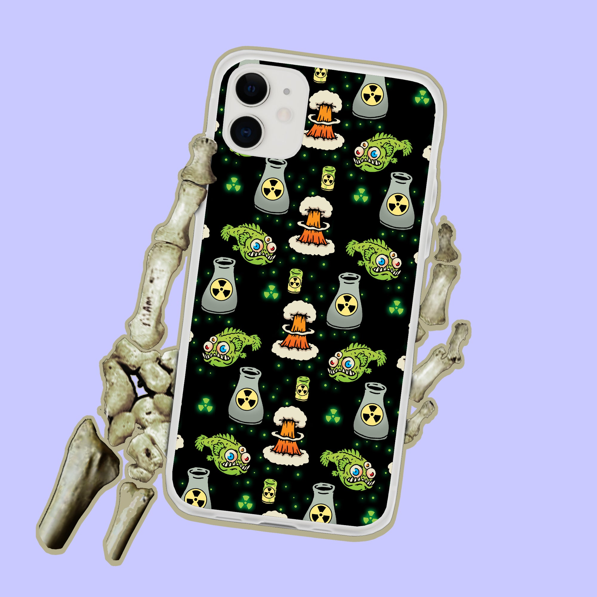 Nuclear Plant Radiation iPhone Case
