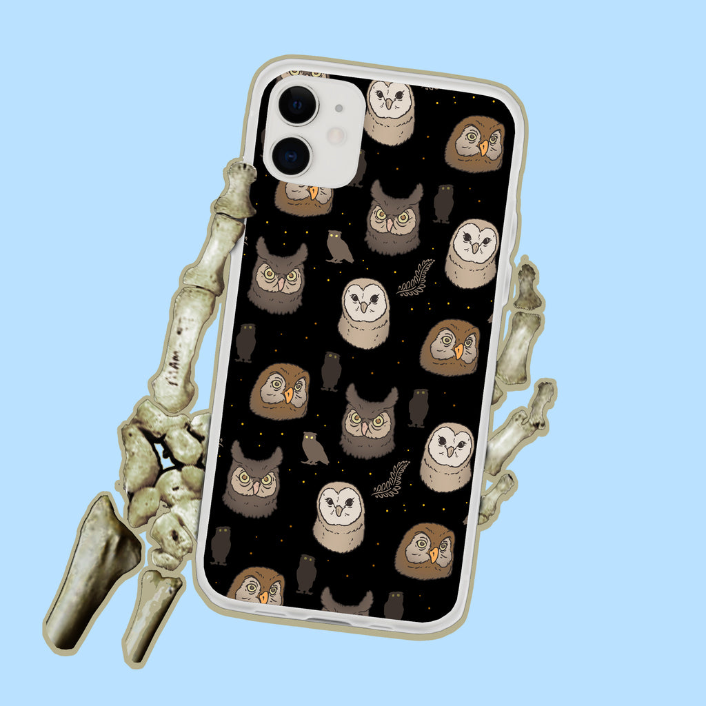 Spooky Owls iPhone Case