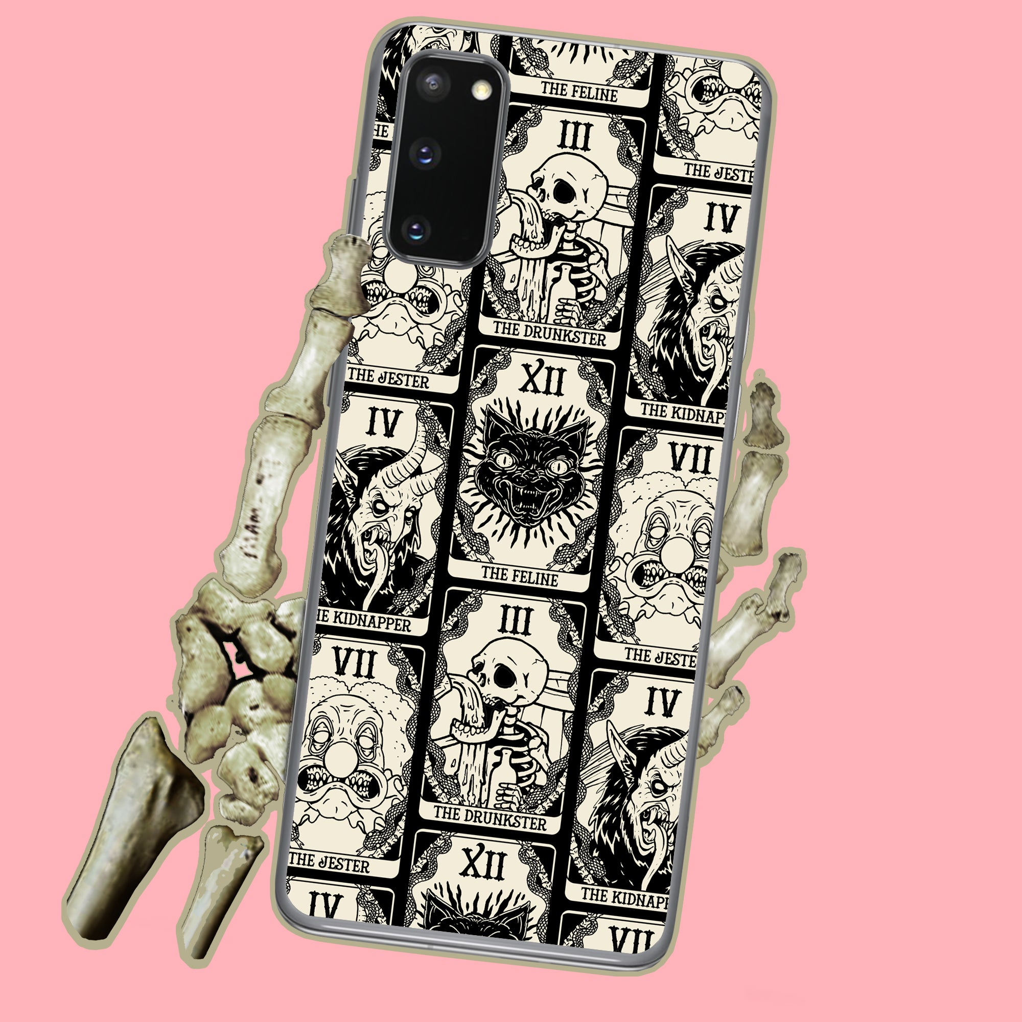 Death Tarot Cards Witchy Samsung Case