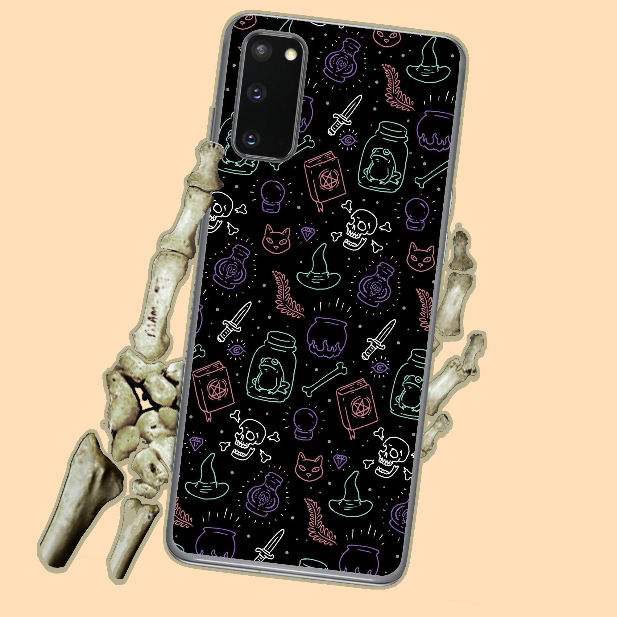 Witchy Vibes Halloween Samsung Case