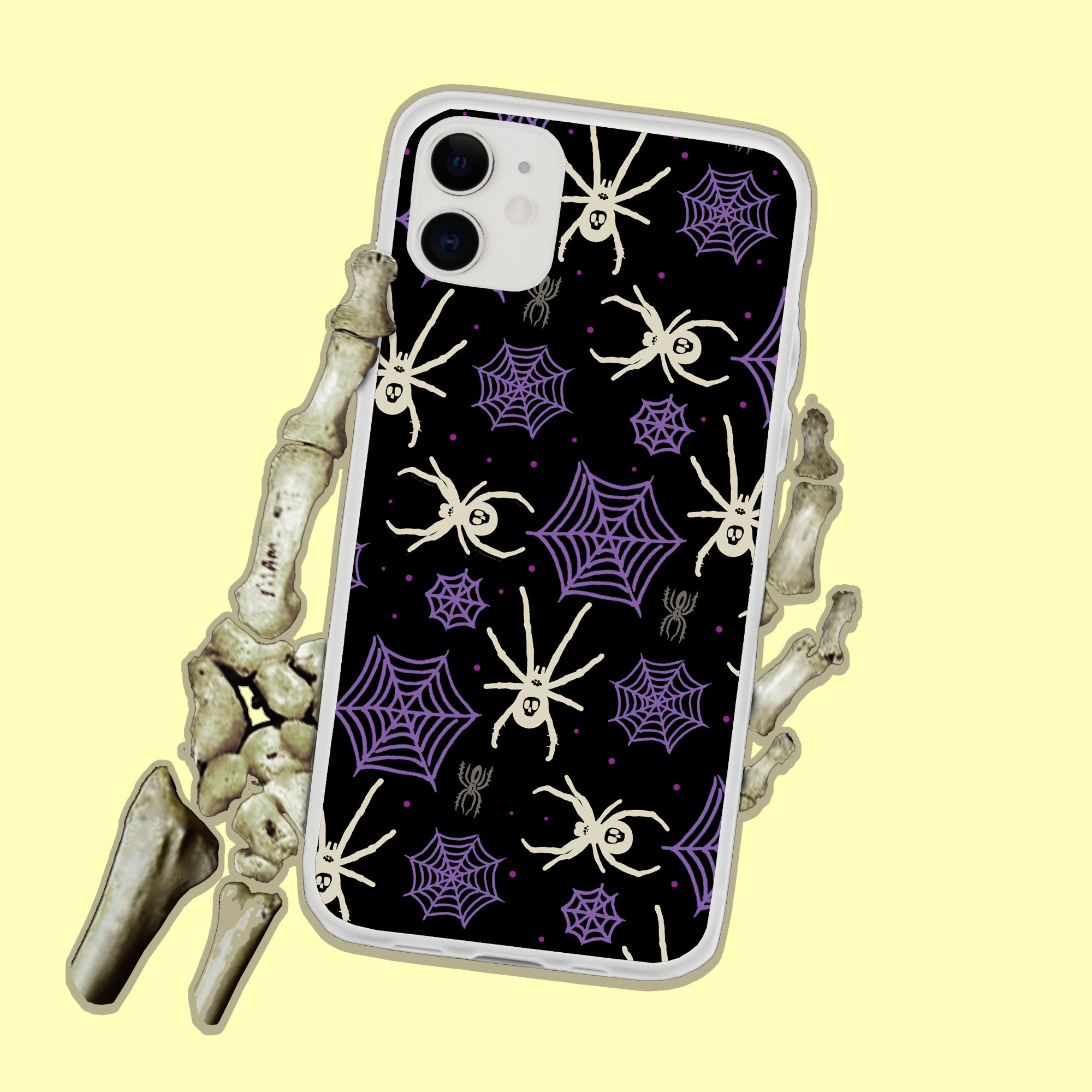 Spider Webs iPhone Case