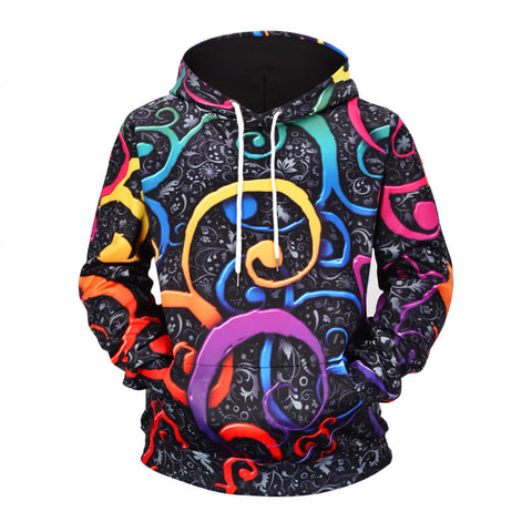 Image of Colored Doodle Hoodie