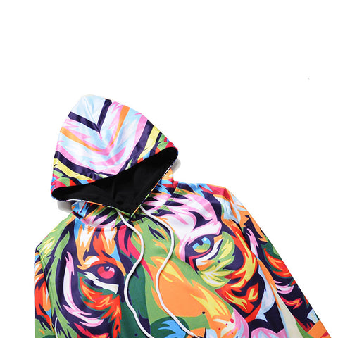 Image of Colorful Lion Hoodie