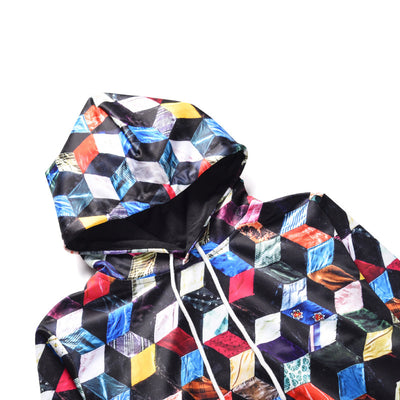 Colored Cubes Hoodie